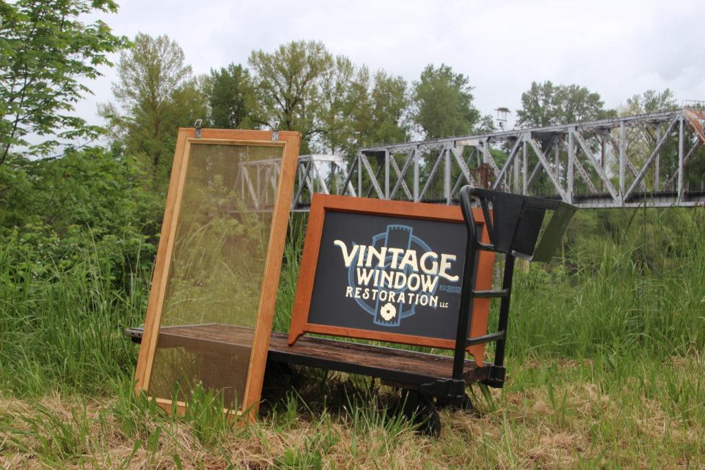 Wood Screens by Vintage Window Restoration